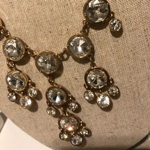 Crystal Statement Necklace from Francesca's